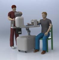 Το Πρώτο Ρομπότ Αναρρόφησης Αίματος Στον Κόσμο