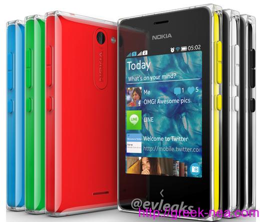 Το καινουριο Nokia Asha 502