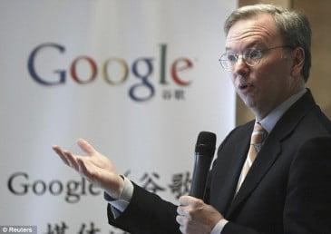Ερχεται ο προεδρος της Google ο Eric Schmidt στην Αθηνα