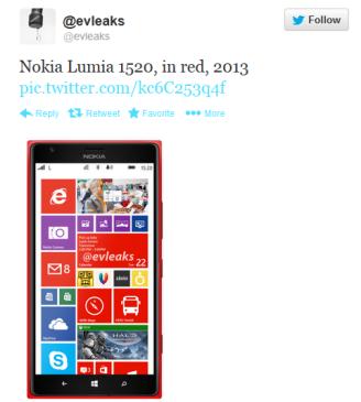 Τα νεα για το Nokia Lumia 1520