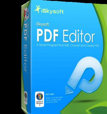 Κατεβστε δωρεαν το iSkysoft PDF Editor