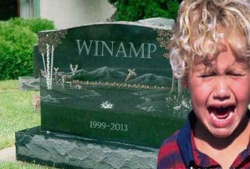Το Winamp σταμάτα την λειτουργία του οριστικα