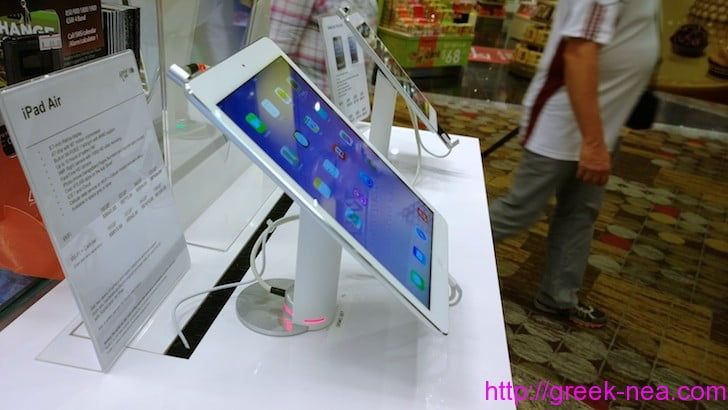 greek-nea.com - Το iPad Air στην Ελλαδα και η τιμη του