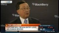 Η BlackBerry κλεινει συμφωνια για να κατασκευασει low-end σμαρτφον με την Foxconn