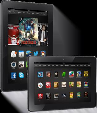 Τα καλυτερα tablets για το 2013 Amazon Kindle Fire HDX