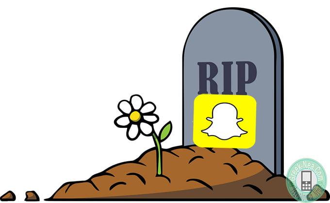 Πεθαινει το Snapchat