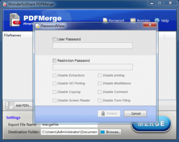 Wonderfulshare PDF Merge Pro 1