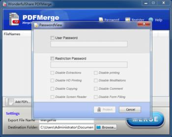 Wonderfulshare PDF Merge Pro 1