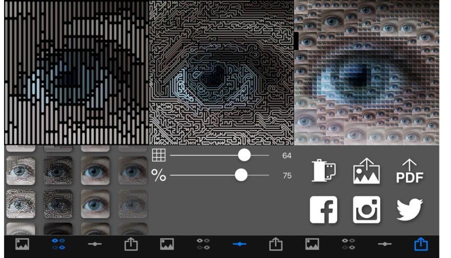 Δωρεάν εφαρμογή επεξεργασίας φωτογραφιών για iPhone (PixelWakker)