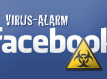 facebook virus rar alarm
