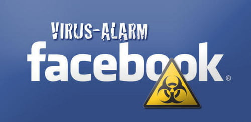 facebook virus rar alarm
