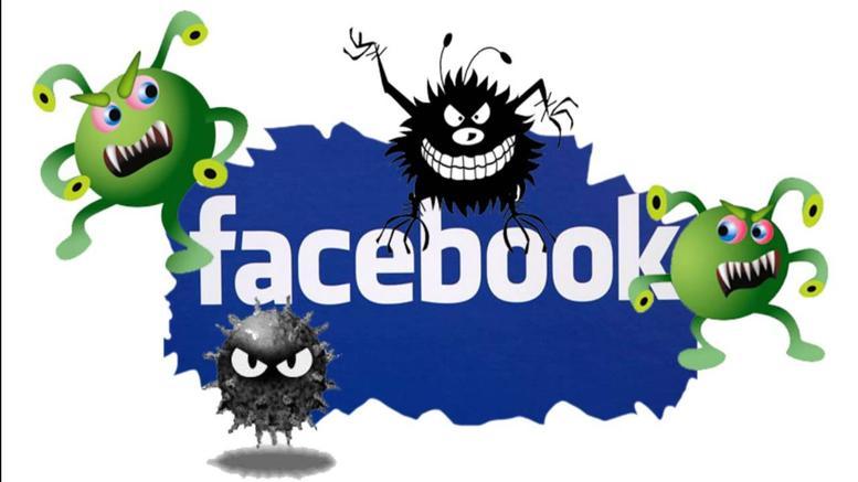 facebook virus