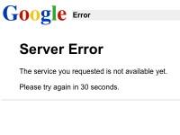 Το Google «down» για 5 λεπτα!